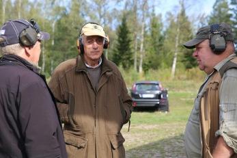 Helge Schauman har mångårig erfarenhet av jägarexamensutbildningar